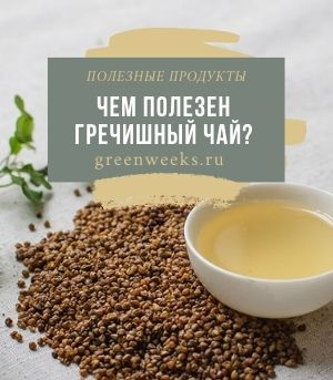 Гречишный Чай Польза И Вред Для Организма - подробнее о чае