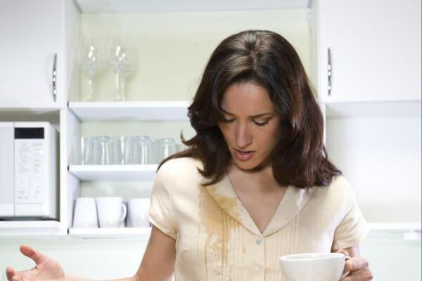 Как Вывести Пятно От Чая На Белом - советы
