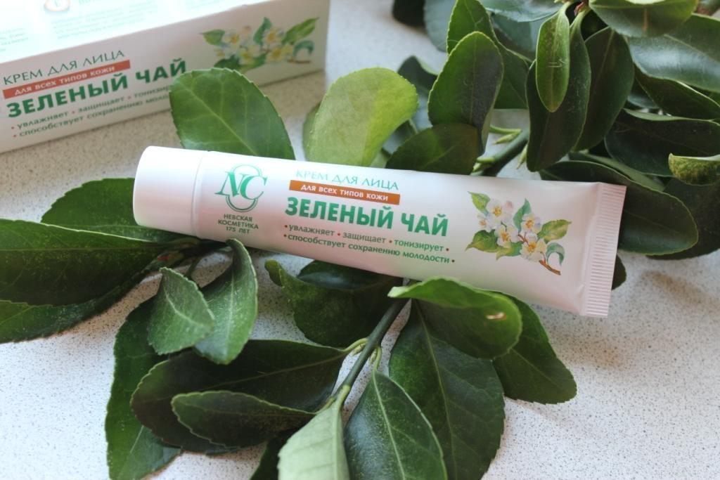 Невская Косметика Крем Для Лица Зеленый Чай - подробнее о чае