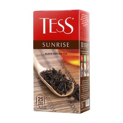 Чай Тесс Черный С Шиповником И Яблоком - основные характеристики