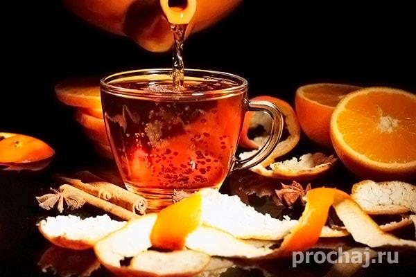 Чай Апельсин Яблоко Брусника Мята И Корица - основные характеристики