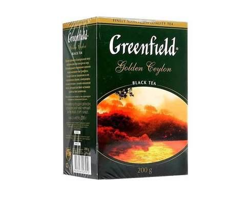 Чай Черный Greenfield Golden Ceylon 200 Г - основные характеристики