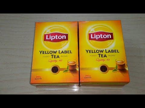 Чай Черный Lipton Yellow Label 25 Пак - обзор