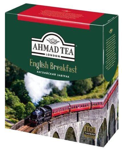 Чай Ahmad English Breakfast Черный 100 Пакетиков - детально о чае