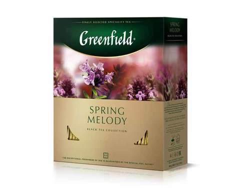 Чай Черный Greenfield Spring Melody В Пакетиках - описание