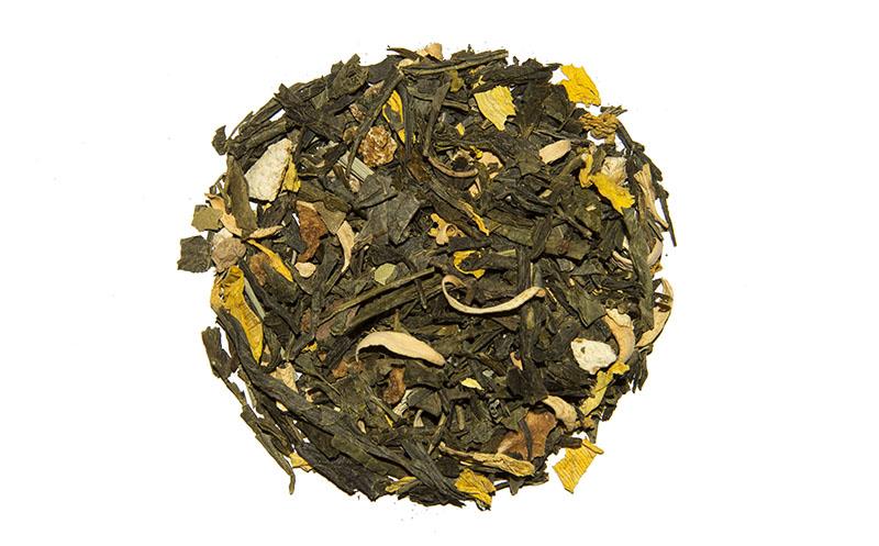 Чай Зеленый Bio National Имбирный С Апельсином - детально о чае