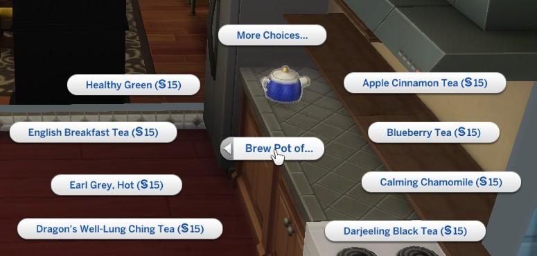 Пусть Школьник Заварит Чай Со Специями Sims - описание