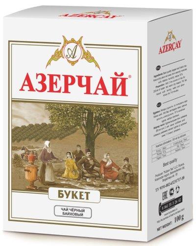 Азерчай Букет Чай Черный Листовой 100 Г - обзор