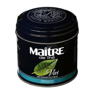 Чай Мэтр Зеленый Наполеон Maitre De The - детально о чае