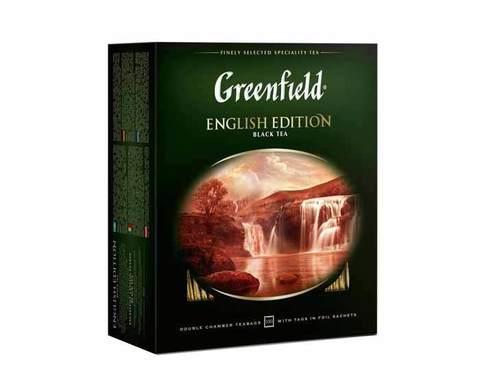 Чай Черный Greenfield English Edition В Пакетиках - разбор вопроса