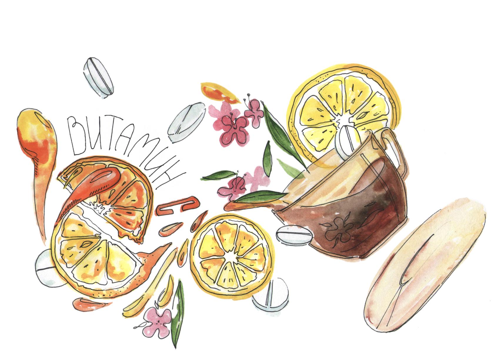 Сколько Витамина С В Чае С Лимоном - подробнее о чае